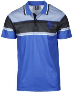QAQA Sublimation Stripe Polo